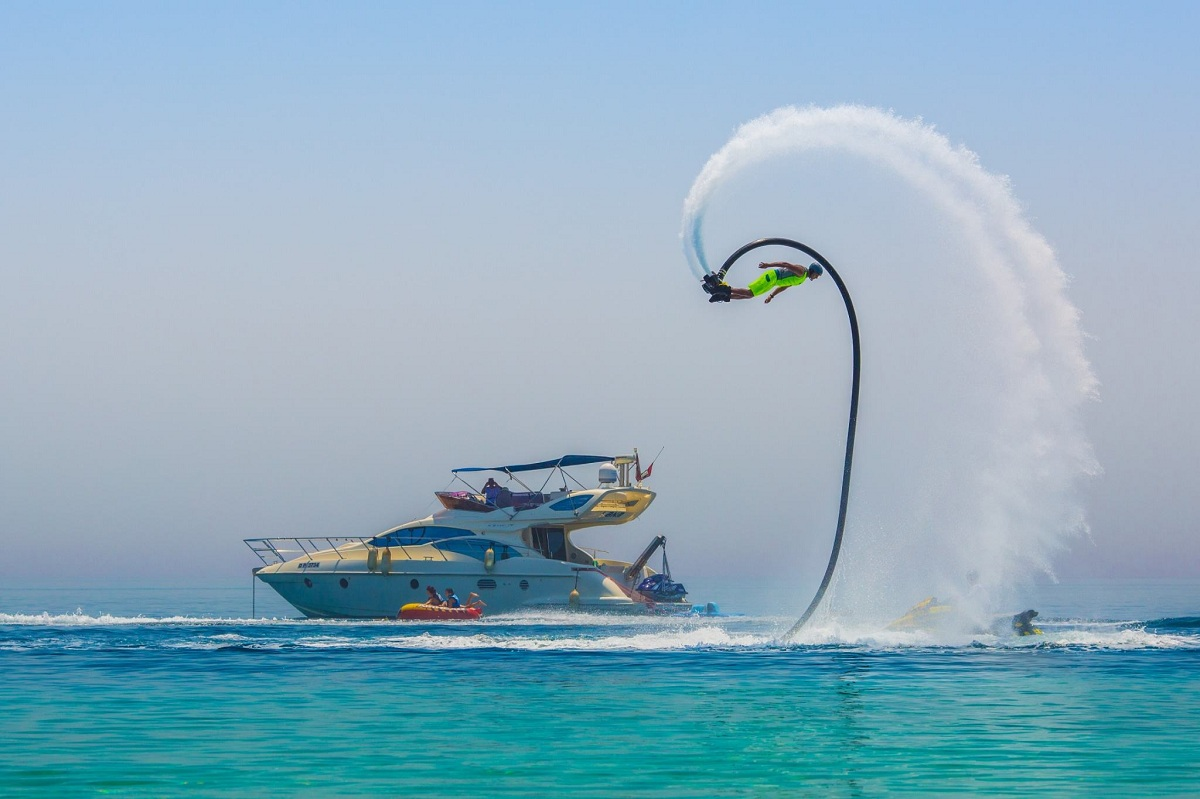 dubai water sports enjoy swimmers rehlat even flyboard non middle east sport watersports activities inspiration adventure sea destinations nov updated