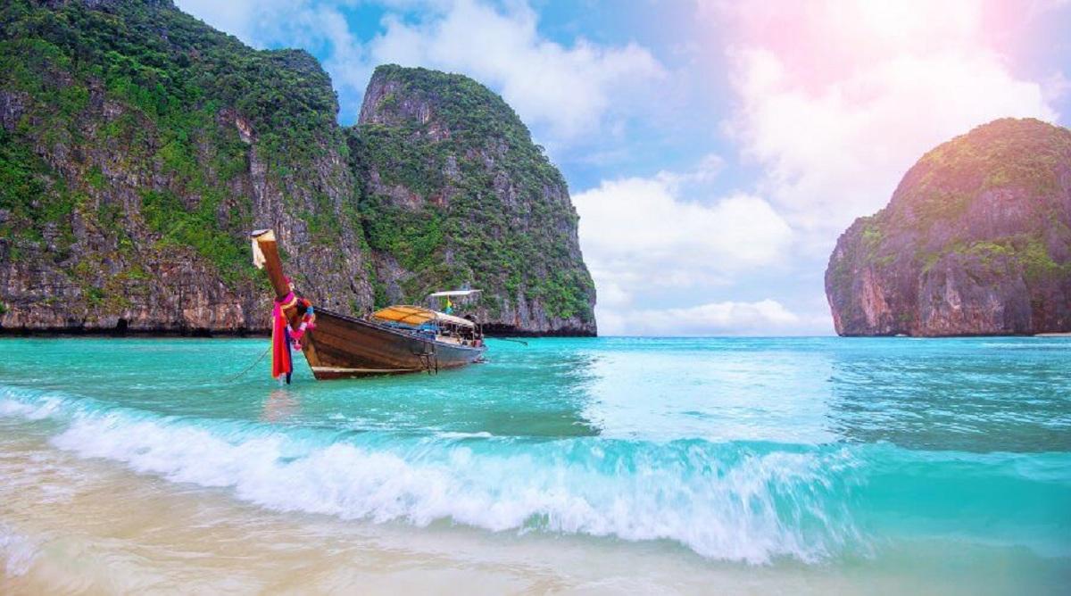 A Beach Holiday For Maya Bay